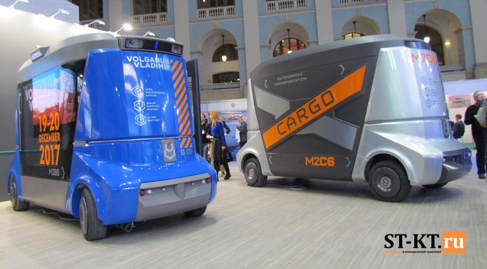 MATRЁSHKA стала автономным грузовиком
