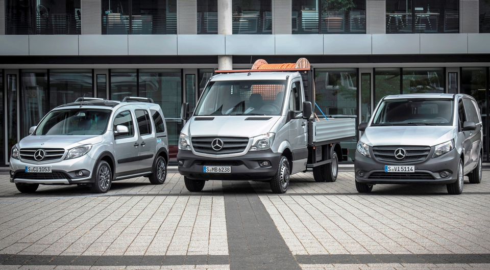 Mercedes-Benz Vans. Минувший год поставил рекорд