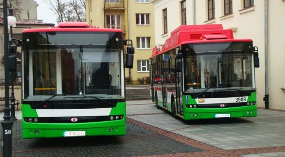 Электробус «Богдан» на улицах Люблина