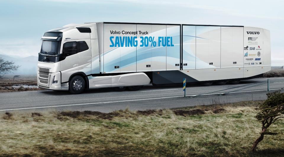 Volvo Concept Truck: аэродинамическая революция?