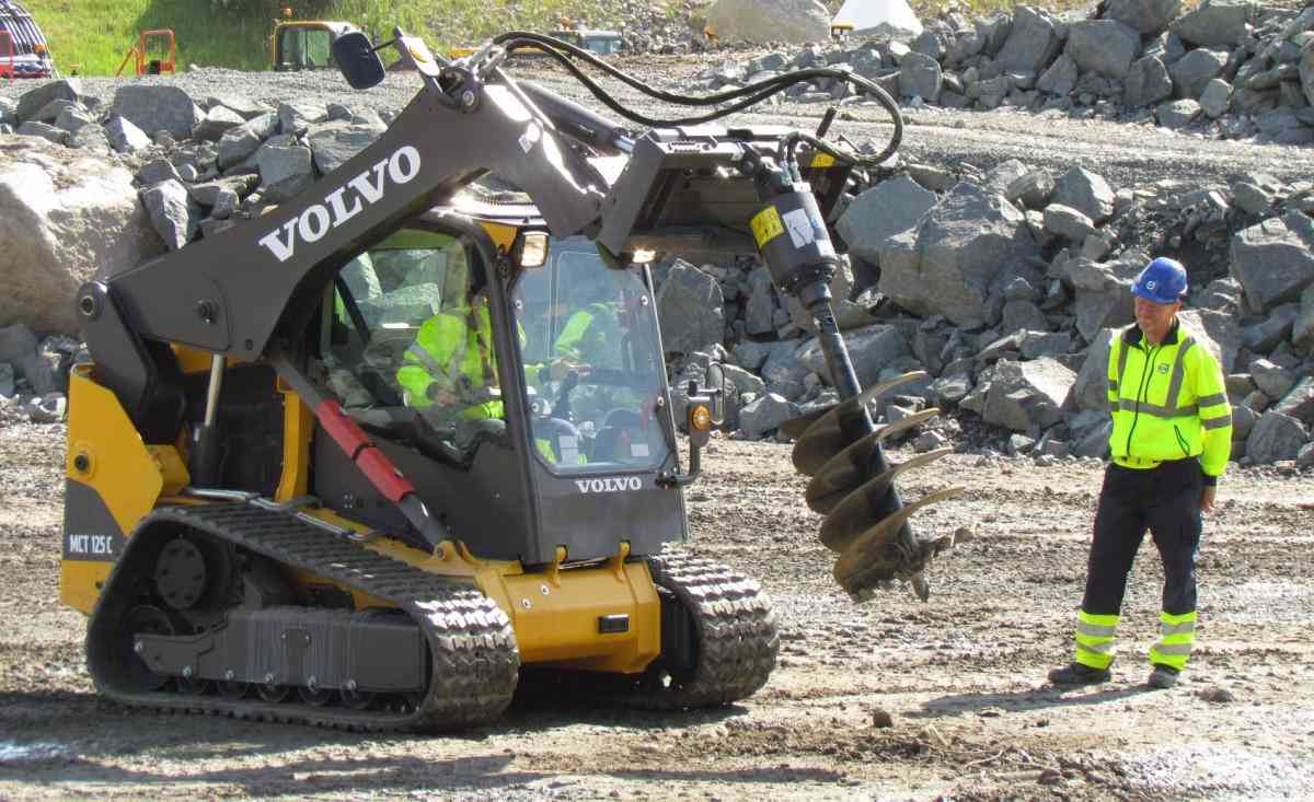 VOLVO DAYS 2015 Volvo CE Volvo Construction Equipment мини-погрузчик бур  экскаватор