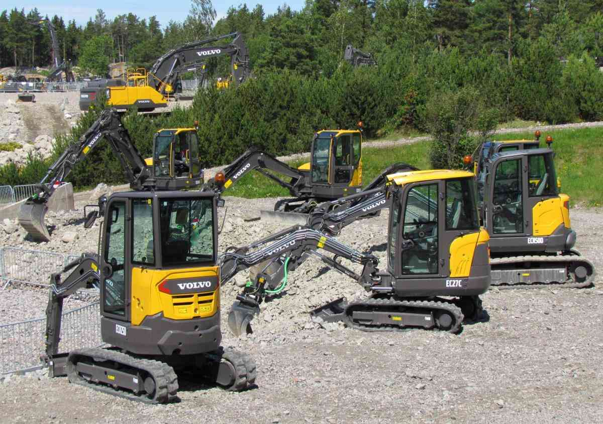 VOLVO DAYS 2015 Volvo CE Volvo Construction Equipment погрузчик мини-экскаватор