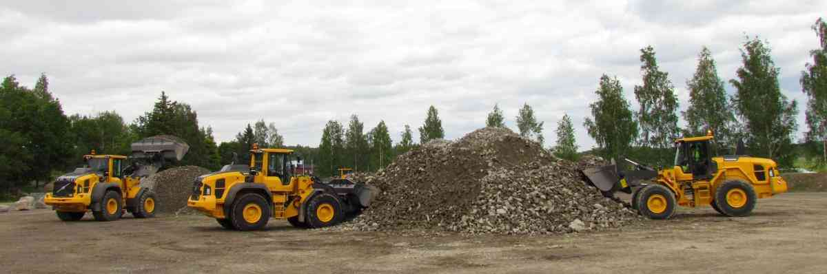 VOLVO DAYS 2015 Volvo CE Volvo Construction Equipment фронтальный погрузчик