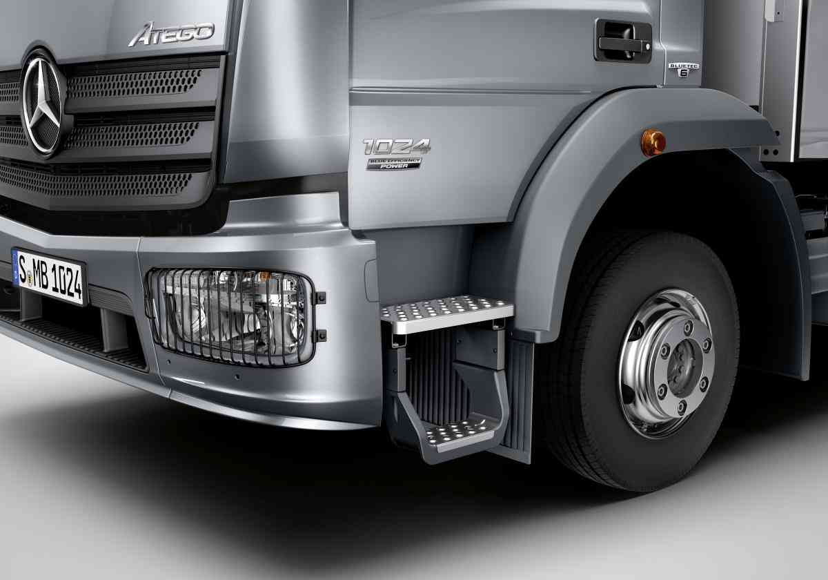 Mercedes-Benz Atego Daimler среднетоннажник Blue Efficiency Power