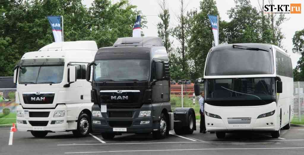 MAN Trucks, MAN bus, МАН, сервис-центр, техцентр, СТО