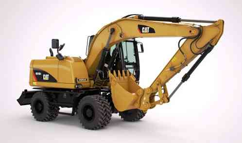 CAT M315D2, CAT M317D2, CAT, Caterpillar, Катерпиллер, колесный экскаватор, экскаватор