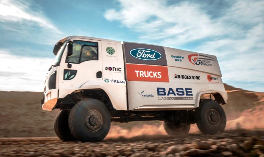 DAKAR-2019, Дакар-2019, Форд Тракс, Ford Trucks