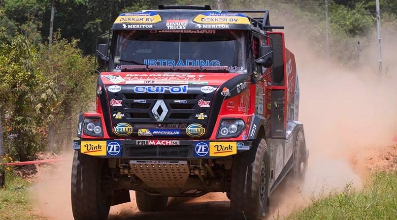 DAKAR-2019, Дакар-2019, Renault Trucks