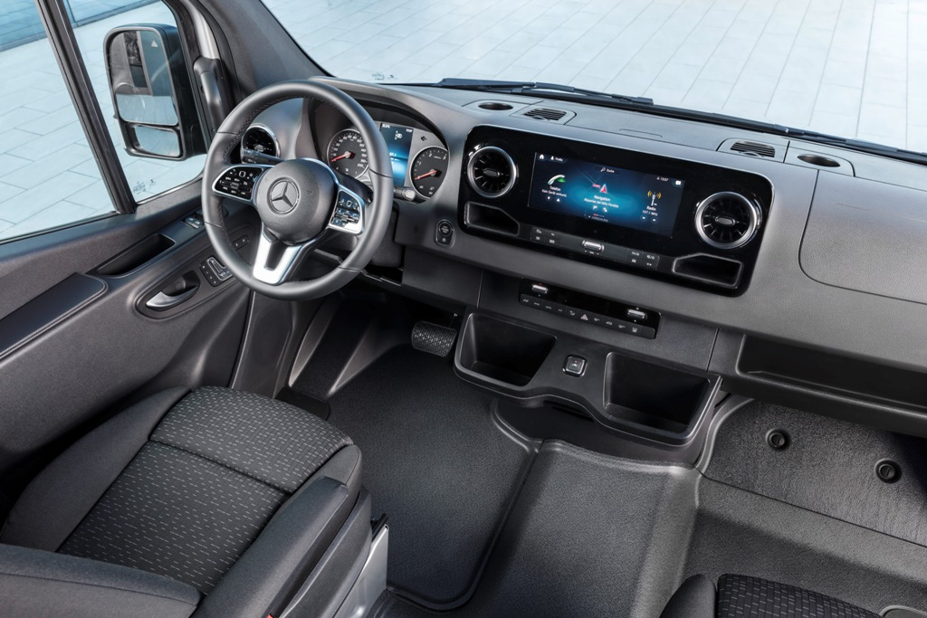 Mercedes-Benz Sprinter, Mercedes-Benz, Sprinter, новый Спринтер, Мерседес Спринтер, новый Мерсесдес Спринтер, new Sprinter, LCV, малотоннажник