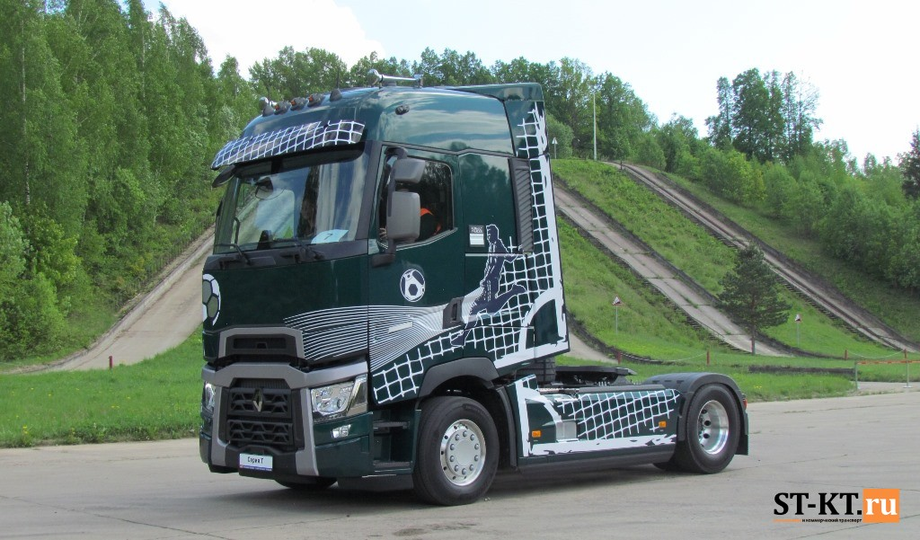 Renault Trucks Т-HIGH Goleador Edition, Renault Trucks, Goleador Edition, Renault Trucks Т-HIGH, Рено Голеодор, магистральник, Тено Тракс