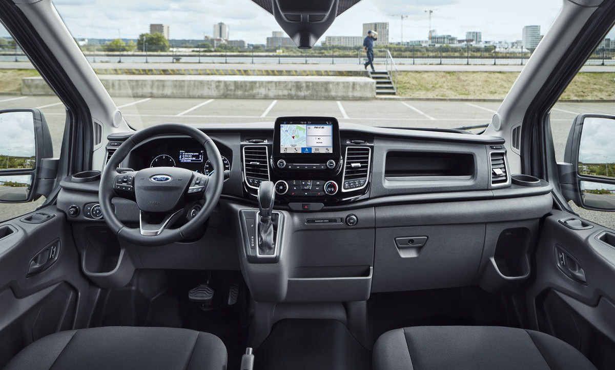 Ford Transit, Флрд Транзит, новый Транзит, двухтонный Транзит, FordPass Connect, Ford Data Services, Ford Telematics