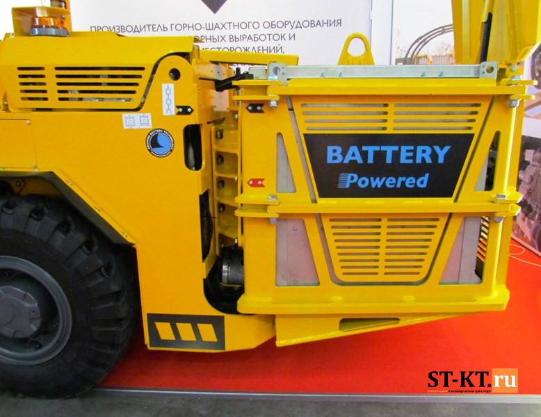 шахтная техника, mining, MiningWorld, MiningWorld Russia, выставка горнодобывающей техники, горнодобывающая техника, горнодобыча, Майнинг, Майнинг Ворд, электропогрузчик, Aramine