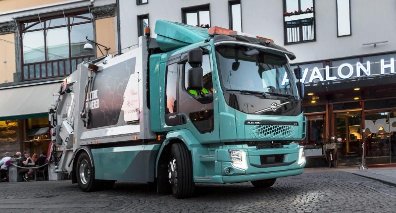 Volvo FL Electric, Volvo FE Electric, Вольво электрик, электрогрузовик, электротрак, электрический грузовик, электромобиль, электрический Вольво