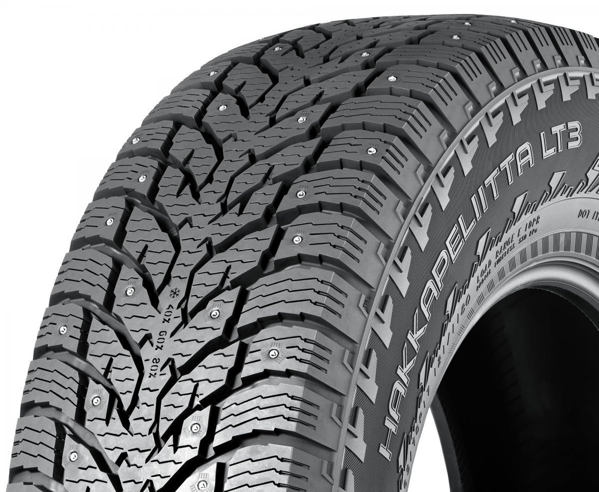 Nokian, шина для легких грузовиков, Nokian Hakkapeliitta LT3, легкогрузовая шина