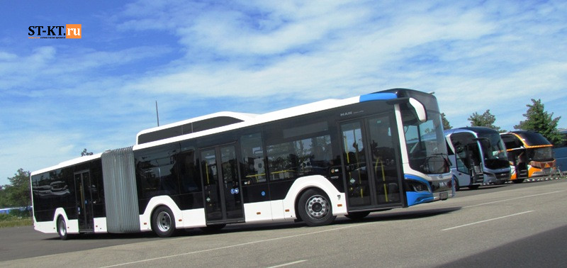 ST-KT, MAN BUS, MAN Lion City, Neoplan, автобус МАН, МАН, Лион Сити, МАН Лион, гибрид, гибридный привод, гибридный автобус, газовый автобус, ГБО