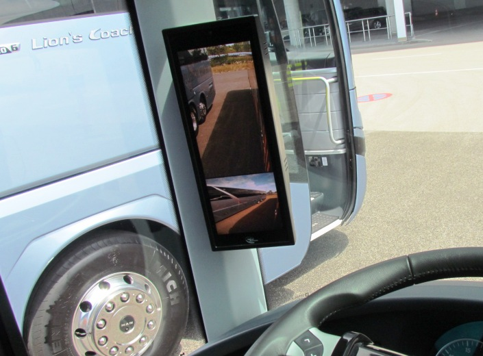 MAN Truck and Bus, Busworld 2019, МАН, Басворд, Неоплан Ситилайнер, камера заднего вида, Neoplan Cityliner, туристический автобус