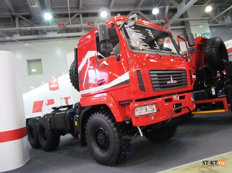 BAUMA CTT RUSSIA 2019, BAUMA, CTT-2019, СТТ-2019, выставка строительной техники, строительная выставка, МАЗ 6х6, МАЗ-643228