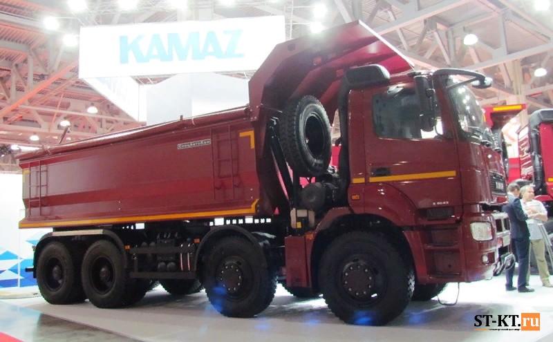 BAUMA CTT RUSSIA 2019, BAUMA, CTT-2019, СТТ-2019, выставка строительной техники, строительная выставка, КАМАЗ-6580, КАМАЗ-65801
