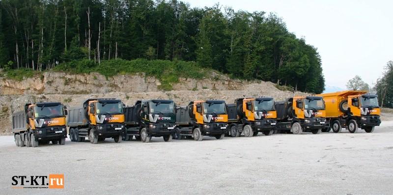 Renault Trucks, Renault Trucks T, Renault самосвал, Renault серии Т, карьерная техника, Карьерный самосвал, Майнинг, Рено самосвал, Рено Тракс Россия, тест-драйв