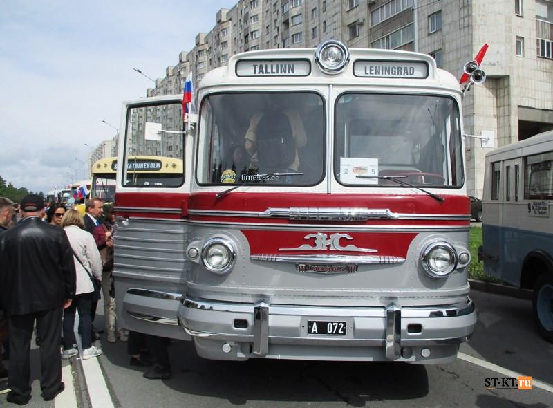 BUSWORLD, SPbTransportFest, автобусная история, автофестиваль, история автобусов, Мир автобусов, музей автобусов, парад автобусов, раритетные автобусы, транспортный фестиваль, советский автобус, ЗИЛ-127