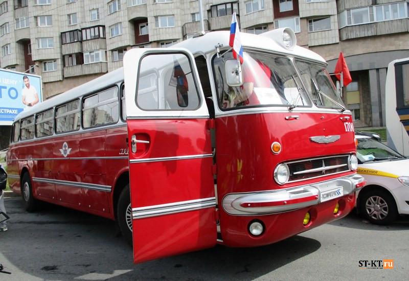 BUSWORLD, SPbTransportFest, автобусная история, автофестиваль, история автобусов, Мир автобусов, музей автобусов, парад автобусов, раритетные автобусы, транспортный фестиваль, советский автобус,  Икарус, Ikarus 55