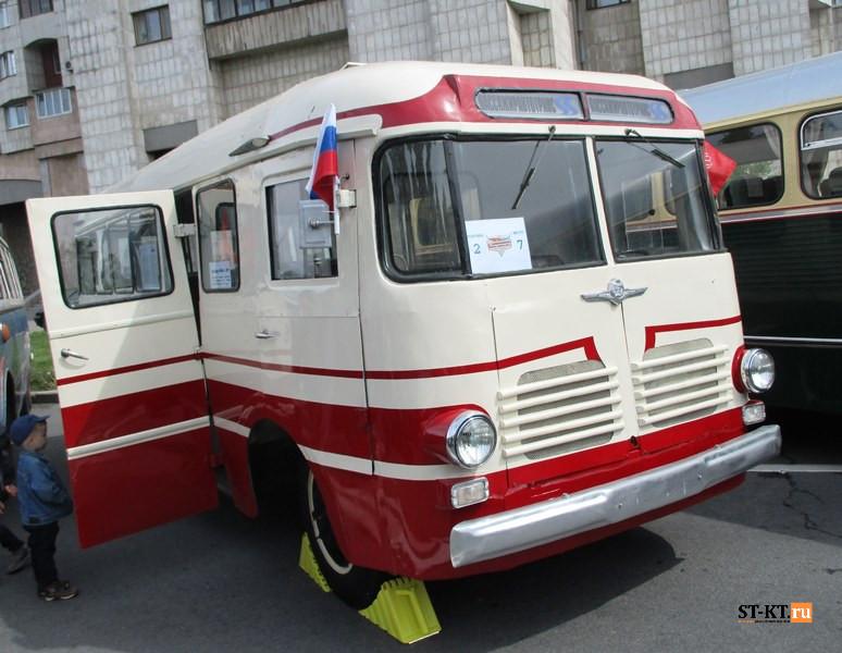 BUSWORLD, SPbTransportFest, автобусная история, автофестиваль, история автобусов, Мир автобусов, музей автобусов, парад автобусов, раритетные автобусы, транспортный фестиваль, советский автобус,  РАФ-976