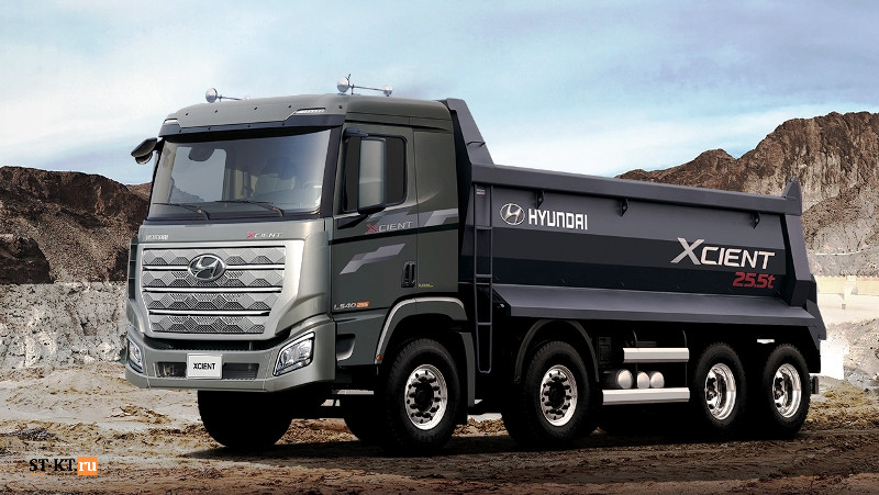 Hyundai Motor, обновленный флагман, Hyundai Xcient Pro, магистральник, седельный тягач Hyundai, Hyundai Xcient, Hyundai Powertech