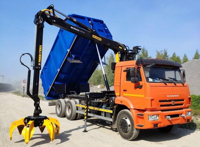 КАМАЗ-65115, Ломовоз, перевозка лома, ТК 7066-23, ТК ЛИФТ, ТоргКомс Групп
