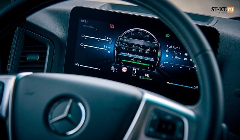 Actros 5, Mercedes-Benz Actros, mirrorcam, Актрос 5, Грузовик мерседес, камера заднего вида, Мерседес Актрос, модернизированный Актрос