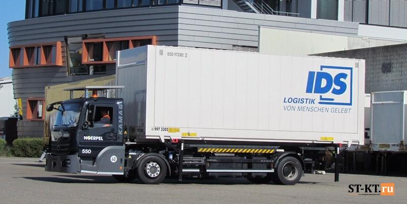 Kamag, Wiesel, Визель, Камаг, Контейнеровоз, портовый тягач, ранжировщик, складской транспорт, терминальный, Ульм