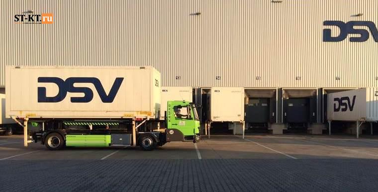 Kamag, Wiesel, Визель, Камаг, Контейнеровоз, портовый тягач, ранжировщик, складской транспорт, терминальный, Ульм, E-Wiesel
