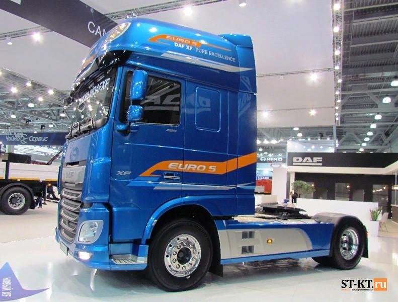 COMTRANS, comtrans 2019, выставка грузовиков, выставка Коммерческий транспорт, Комтранс 2019, новинки грузовиков, СТ-КТ, DAF XF