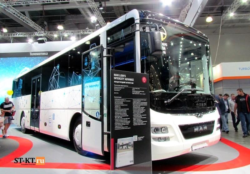 COMTRANS, comtrans 2019, Автобус, автобусный транспорт, выставка грузовиков, выставка Коммерческий транспорт, Комтранс 2019, новинки грузовиков, новый автобус, СТ-КТ, MAN Intercity