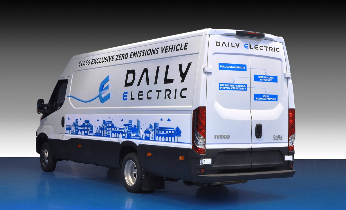 Iveco New Daily Electric электромобиль фургон малотоннажник