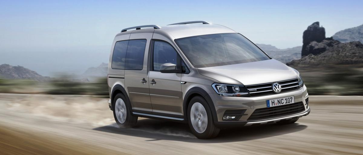 Volkswagen Cross Caddy Caddy Alltrack каблучок фургончик