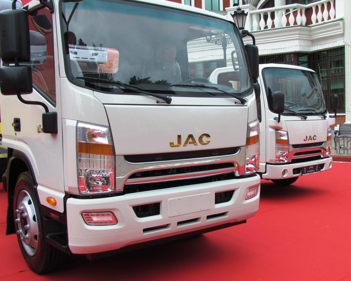 JAC, Джак, JAC Motors, JAC N120, китайский автомобиль, китайский грузовик, среднетоннажник, 12-тонник