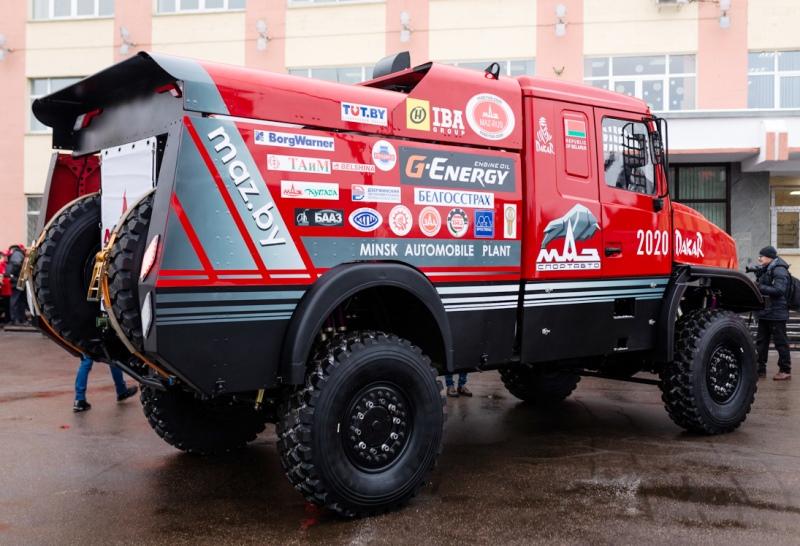 МАЗ-6440RR, спортивный МАЗ, ралли-рейд, париж-дакар, МАЗ-СПОРТавто, боевой МАЗ, капотный МАЗ, МАЗ для Дакара