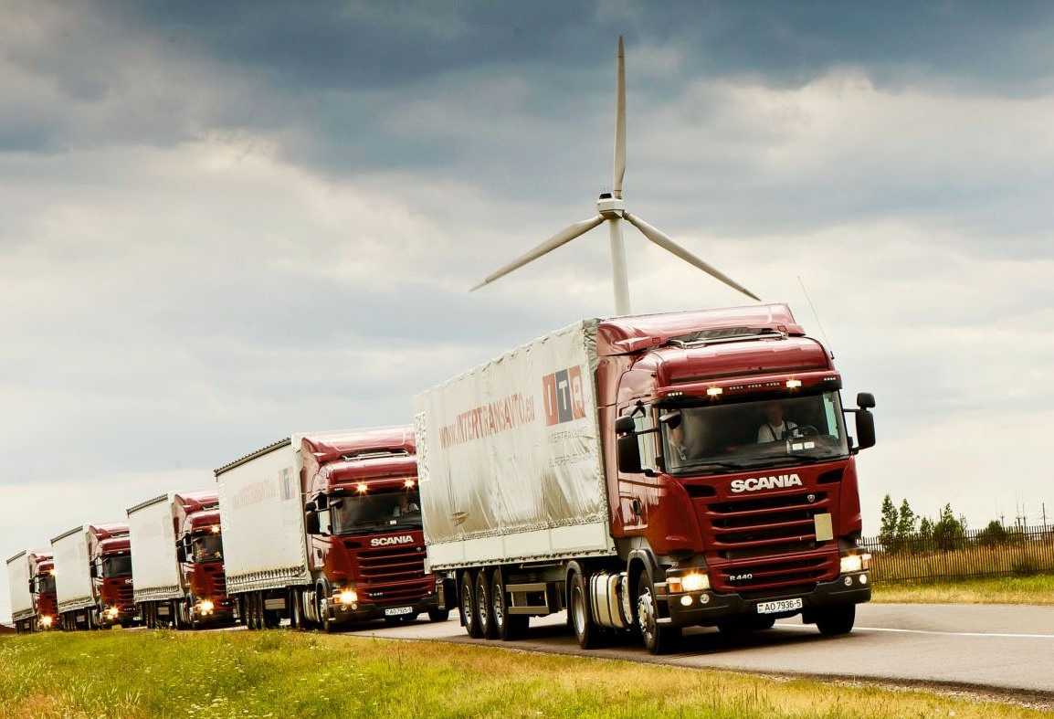 Intertransavto, ITA, пополнение автопарка, международные перевозки, Scania
