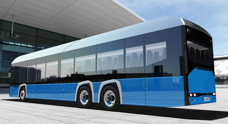 Solaris, electrobus, Соларис, 15-метровый автобус, электробус, Solaris Electric, Solaris Urbino