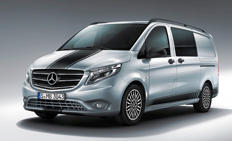 Mercedes-Benz Vito, Мерседес Вито, новая версия, спецкомплектация