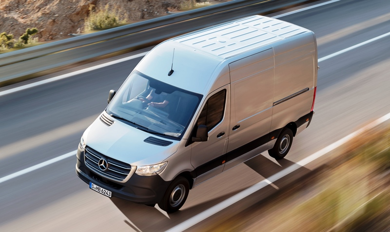 Mercedes-Benz Vito, Mercedes-Benz Sprinter, Мерседес Спринтер, новая версия, спецкомплектация