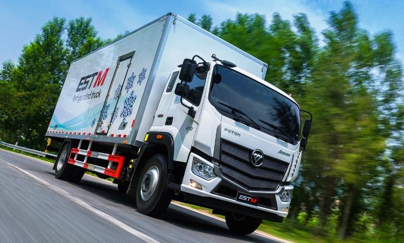 Foton EST M 1221, Foton, Фотон, грузовик Фотон, китайский грузовик, Foton Aumark, Аумарк, Foton EST, 12-тонник, среднетоннажник, Foton Motor