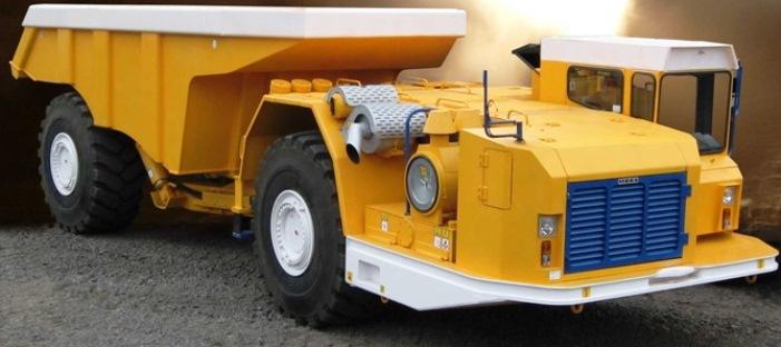 МОАЗ, БЕЛАЗ, шахтный самосвал, шахтный погрузчик, горная техника, подземный самосвал, подземный погрузчик, подземная техника, шахтная техника, МОАЗ-75830