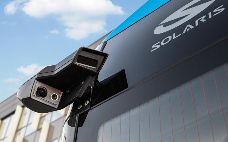 Solaris Bus and Coach, Solaris, автобус Соларис, система предотвращения столкновений, безопасность автомобиля, внешние видеокамеры, видеокамеры вместо зеркал