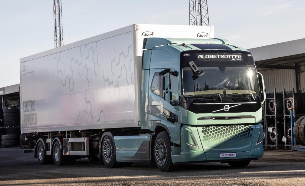 Volvo Trucks, Вольво Тракс, электрический Вольво, электрический грузовик, электромобиль, электрический тягач, Volvo Electric, СТ-КТ