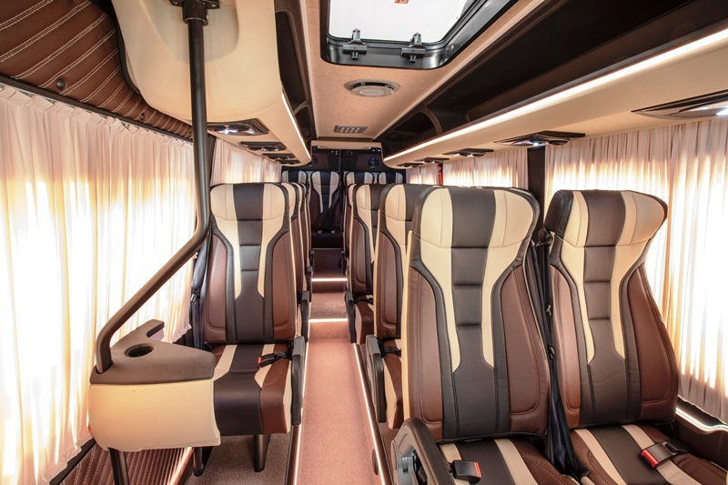 Mercedes-Benz Sprinter, Мерседес Спринтер, микроавтобус, пассажирский Спринтер, пассажирский Sprinter