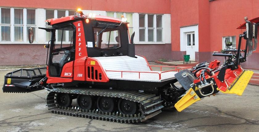 Ратрак, МТЗ, снегоуплотнитель, Минский тракторный завод, минский ратрак, СТ-КТ, МСУ-108, МСУ-622