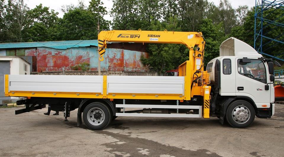 Многофункциональные грузовики JAC на BAUMA CTT