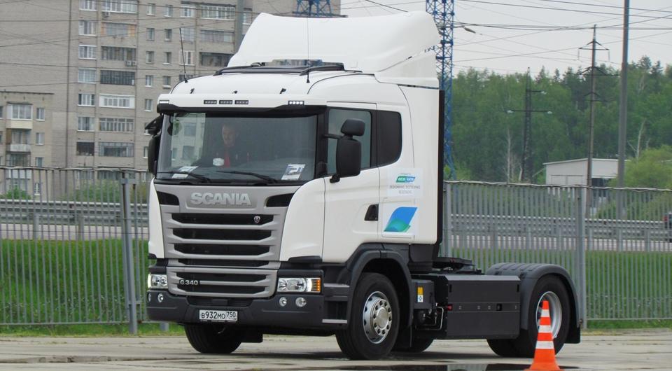 Scania вновь лоббирует импортные газовые грузовики