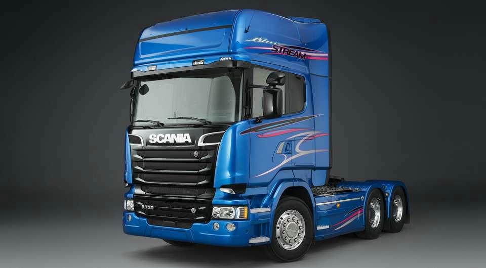 Эксклюзивная Scania для компании «ЛАБА»